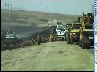 Grassfires Threaten Northwest Oklahoma