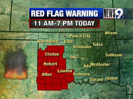 High Wildfire Danger Today