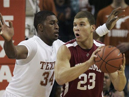 OU's Griffin Will Not Play against Kansas Tonight