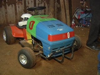 Turning A Lawn Mower into a Hot Rod