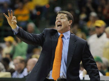 Travis Ford Drops F-Bomb From Sidelines