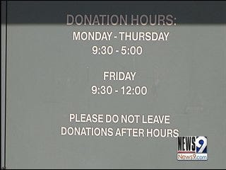 Donations Allegedly Taken from Hope Center