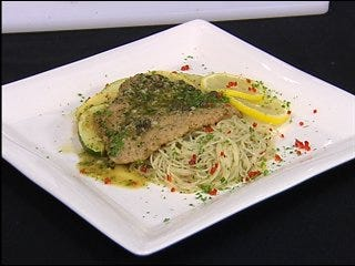 Veal Piccata with Parsley & Capers