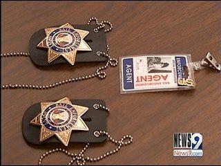 Police Tie Evidence to 'Posing Cop' Crimes