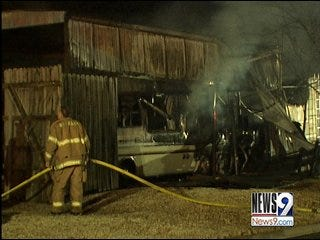 Bethany House Fire Damages 2 Homes