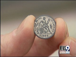 Man Discovers Rare Coins in El Reno
