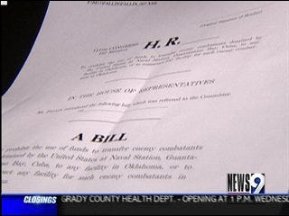 Legislation Drafted to Keep Gitmo Detainees out of Oklahoma