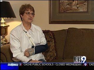 Slick Roads, Sidewalks Cause Falls, Injuries