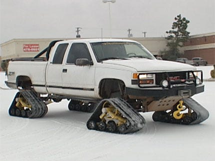 The Ultimate Snowmobile