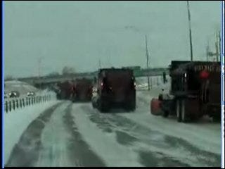 Winter Storm Moves Out