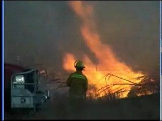 Winds Fuel Weekend Fire Near Crescent
