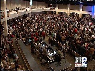 Oklahomans Turn to Faith During Tough Times