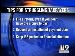 IRS to Help Struggling Tax Payers