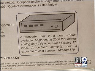 Commerce Department Out of DTV Coupons