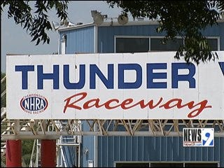 Wreck Occurs at Thunder Valley Raceway Park