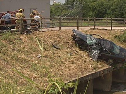 Driver Dies After Crashing Car Into Embankment