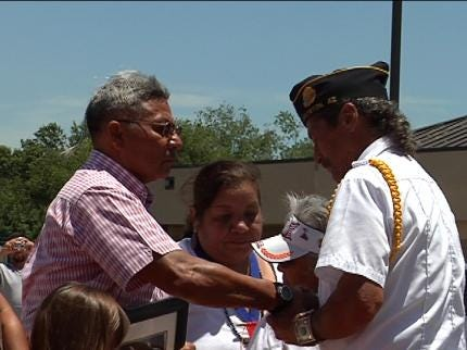 Muskogee Creek Nation Honors Veterans