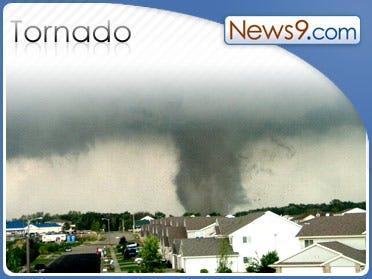 Nebraska Tornado Caught on Tape