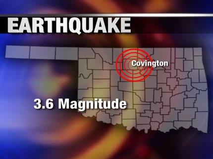3.6 Magnitude Earthquake Shakes Up Residents