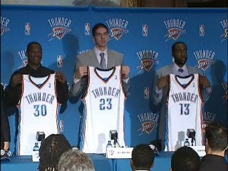 Thunder Introduce Newest Additions
