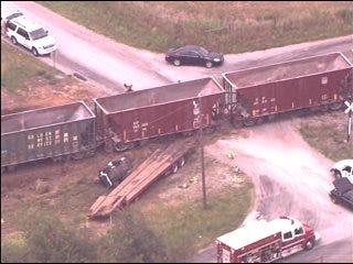 One Man Killed in EL Reno Train Collision