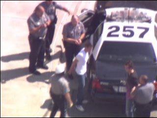 High-Speed Chase Ends at Quail Springs Mall