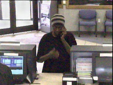 Serial Bank Robber Strikes Again