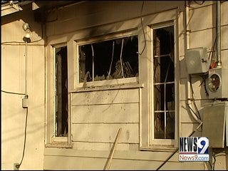 Cause of Oklahoma City House Fire Unclear