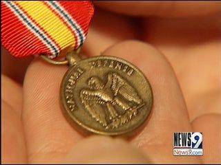 El Reno Couple Seeks Owner of Medal Found