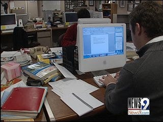 OU Reporter Exposes Sexual Behavior in Library