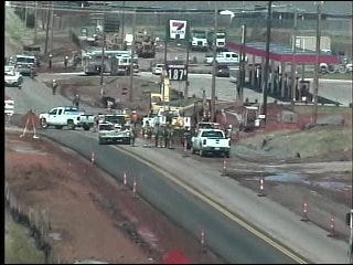 Gas Leak Reported in Northwest Oklahoma City