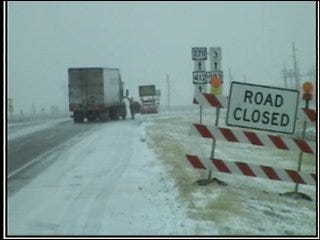 Roads Closed in Oklahoma Panhandle