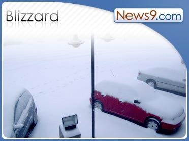 South Dakota gets smacked with blizzard