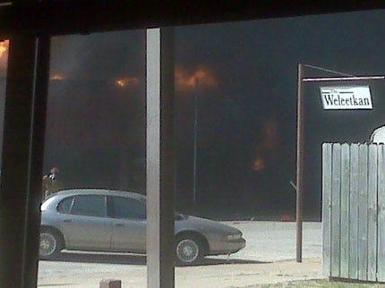 Weleetka Fire Damages Multiple Businesses