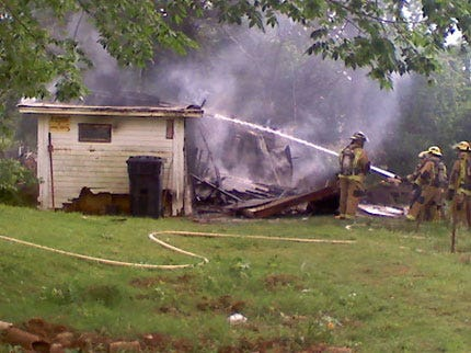 Explosion, Fire Levels House in NE Oklahoma City