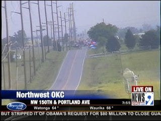 Driver Dies in Head-On Collision in Northwest Oklahoma City