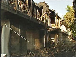 Fire Displaces 40 Apartment Residents