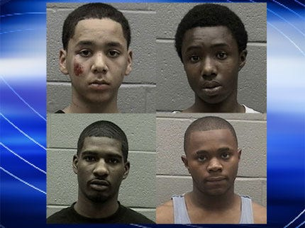4 Teens Charged in Del City Shooting