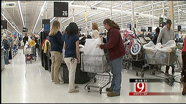 Construction Companies Go On Shopping Spree For Oklahomans In Need