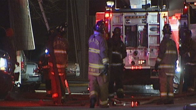 No Injuries Reported In 3-Alarm Apartment Fire In OKC