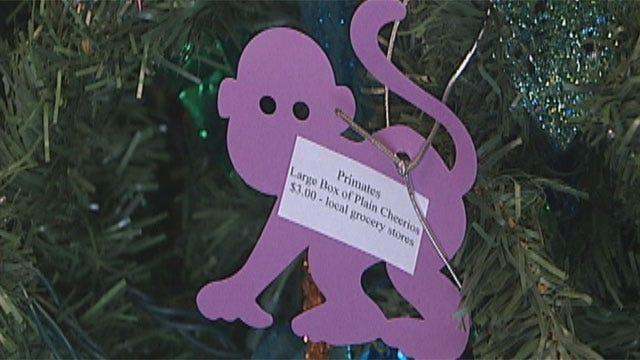 Oklahoma City Zoo Visitors Play Santa For Animals