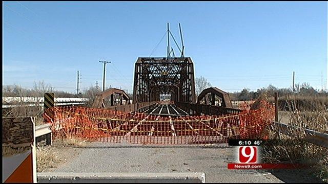 Historic Lake Overholser Bridge Getting Refurbished
