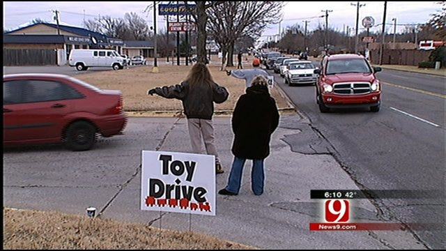 Radio Stations, Firefighters Team Up To Give Out Christmas Toys