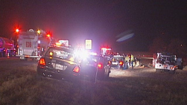 3 Injured In Two-Car Rollover Crash