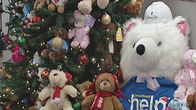 Chesapeake Donates Teddy Bears To EMSA To Help Injured Kids