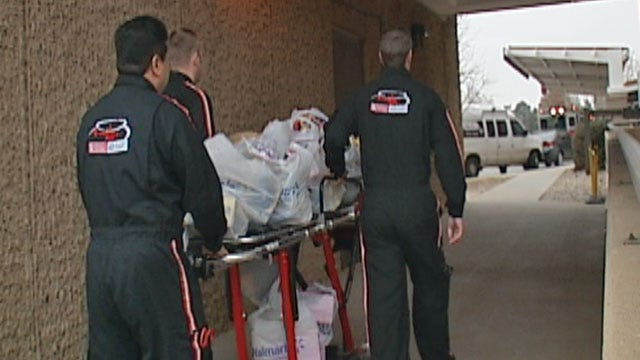 Mediflight Workers Fly In Toys To Hospitalized Children
