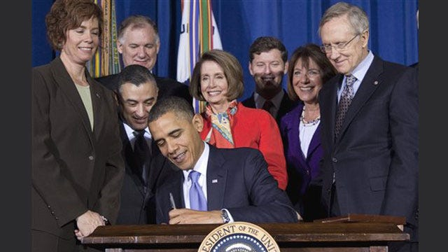 President Obama Signs Legislation Repealing Ban On Gays In Military