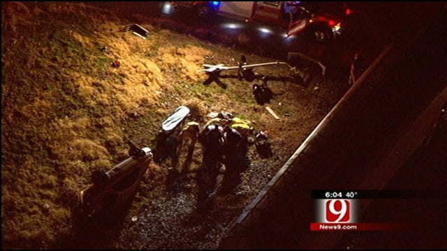Man Hospitalized After Car Hit By Train In OKC