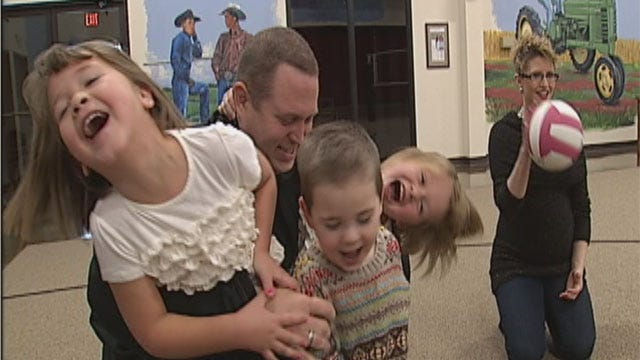 Guthrie Couple Creates One Big, Happy Family