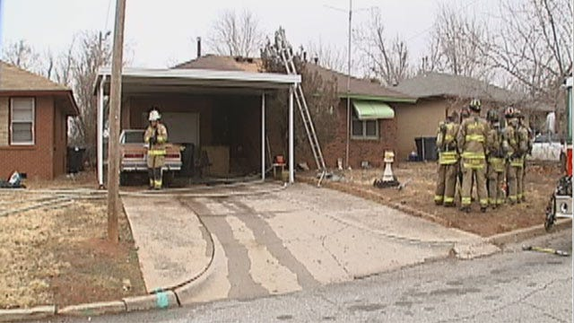 OKC Police Investigate Fire That Killed 82-Year-Old Woman